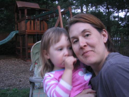 Skyler and Mommy (Heather)
