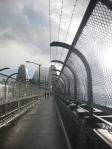 fog on the Sydney Harbor  Bridge